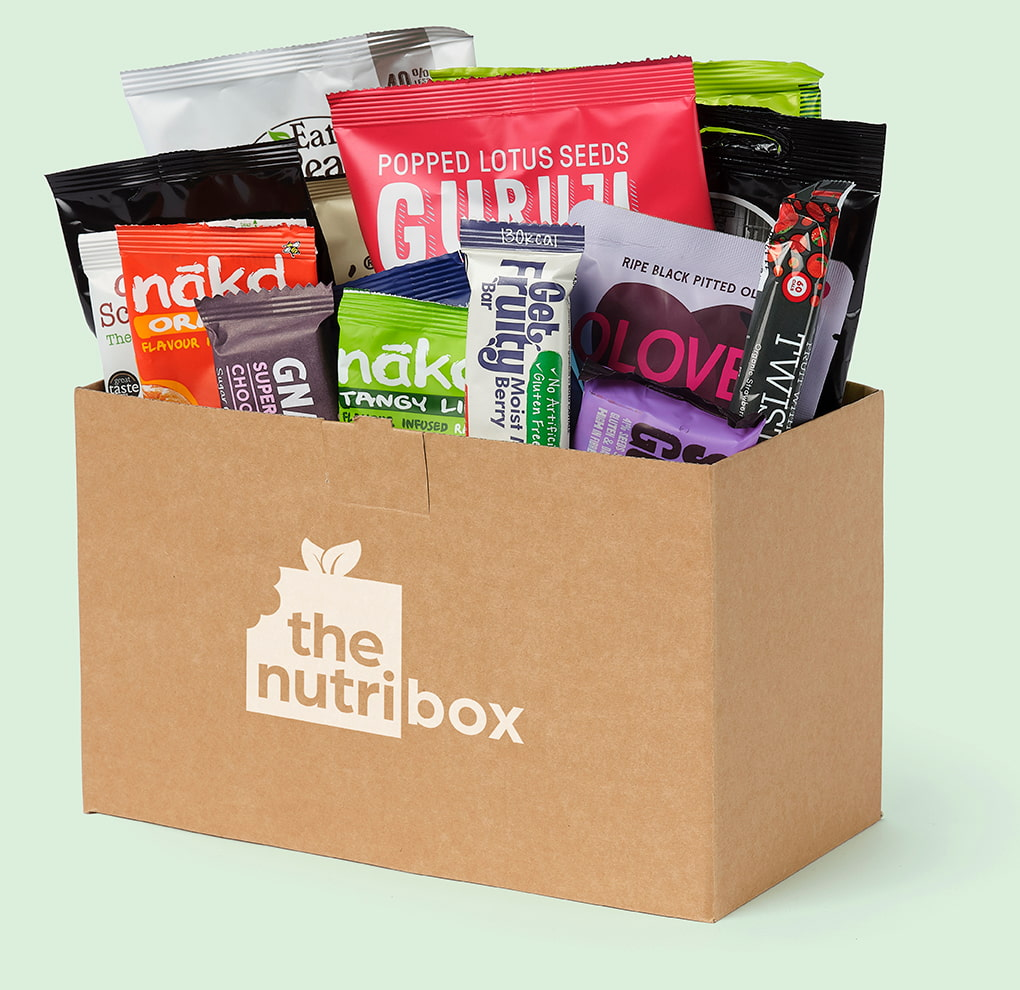 Healthy snack boxes delivered to your door